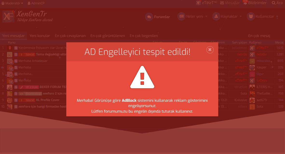 XenGenTr AdBlock Dedektoro ekran.PNG
